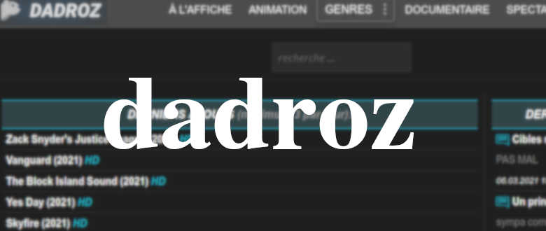dadroz film streaming